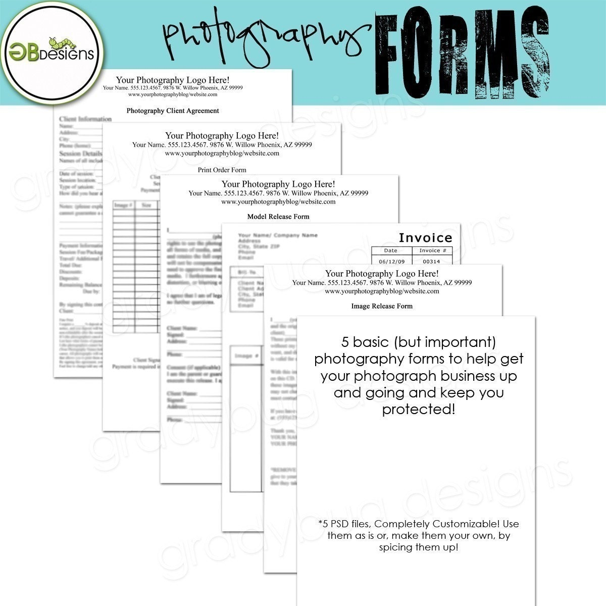 free photography print release form template - photography forms templates for photographers invoice