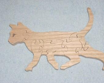 Running cat puzzle