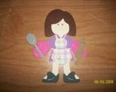 Baker paper doll diecut- cricut