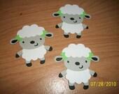 lot of 3 lamb diecuts