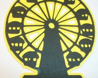 Ferris wheel die cut