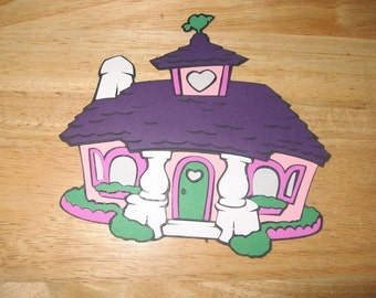 Minnie Mouse House diecut-cricut