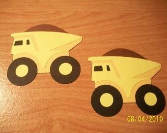 dump trucks - set of 10