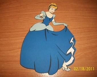 Cinderella die cut- full body