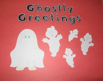 Halloween diecut set- Ghostly Greetings-cricut