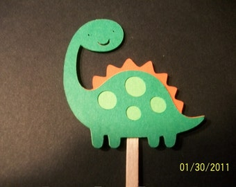 Dinosaur cupcake toppers- set of 12