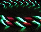 A Best Selling Hula Hoop - Glow In The DaRK  'Supernova Watermelon Sparkle' - Hoola Hoops Made YOUR Way.