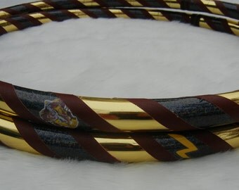 PoTTeR LoVeR - Harry Potter Themed Decal Hula Hoop - Choose ANY Color Tapes & Weatherproof Decals.