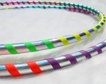 """On SaLE - Mini Twins - 'The RAINBOW WARRIORS' - 1/2"""" PE, 3/4"""" and 5/8"""" THiN Polypro! Your Size & Color / Poi Hula Hoops."""
