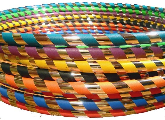 Hoop Mamas Signature 'Budget Travel Hoop' -MaDe YoUr WaY - Choose Color/Size/Tubing. PRO Hoops at GREAT Prices.