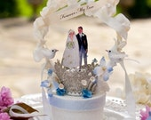 Forever My Love  Custom Wedding Topper for Aleta