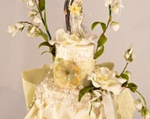 Mon Amour Wedding Topper - SPECIAL ORDER FOR ELIZABETH (DO NOT PURCHASE UNLESS YOU ARE ELIZABETH)