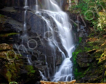 Eastatoe Falls - 8x10 signed original photograph, North Carolina waterfall