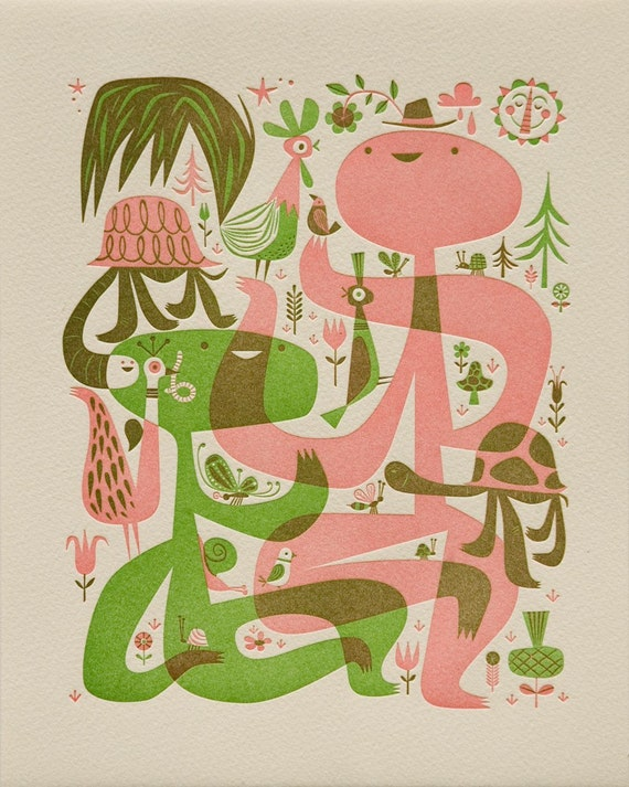 Nature Walk by Tim Biskup, Limited Stock