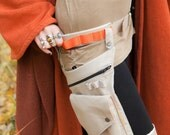 SALE Earth worker Pocket Belt and Leg Strap Utility Bag with Orange accents