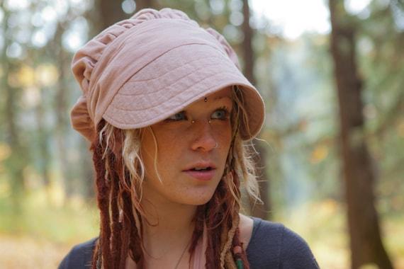 Wrap Bonnet, Heavy Gauze Cotton Sun Hat