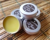 Peppermint Cocoa Lip Balm /// Made with Raw Organic Cocoa Butter /// 1/2 oz tin canister