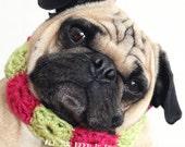 Custom Crocheted Dog Necklace