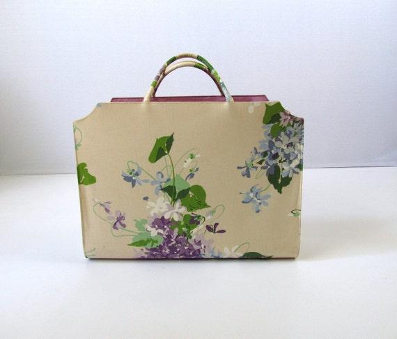 vintage Margaret Smith Extra Large Handbag Weekend Tote
