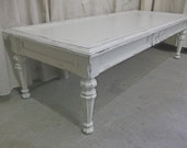 Shabby White Cottage Style Coffee Table - Chic  TB501