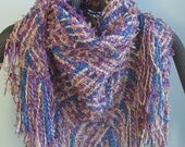 Handwoven Triangle Scarf