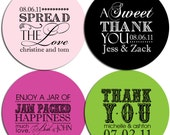 Set of Custom Wedding Stickers - ALL MIXED UP ...More
