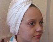 spa head towel turban