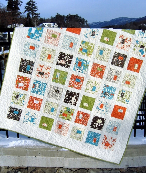 Quilt Kit - Heaven's Door Pattern by SweetJane with Chrysalis Fabric by Sanae for Moda