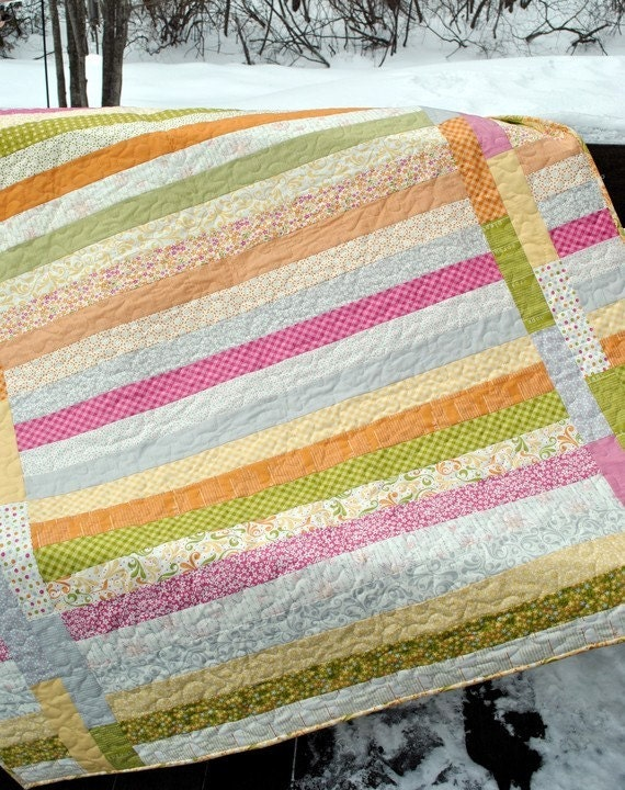 Quilt Kit Between The Lines Pattern By Sweetjane With