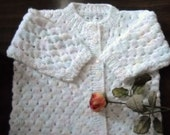 Infant sweater set by needles1.at Etsy.com