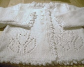 Childs Tulip sweater by needles1 on etsy.com