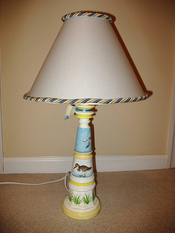 Seashore motiff table lamp