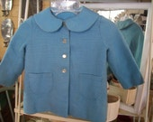CLOSEOUT-Vintage Jacket for Child in Blue