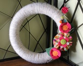 Summertime Fun Wreath- 12""