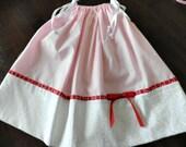 Pink heart pillowcase dress