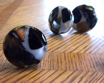 Fused Glass Drawer Pulls / Knobs / Handles