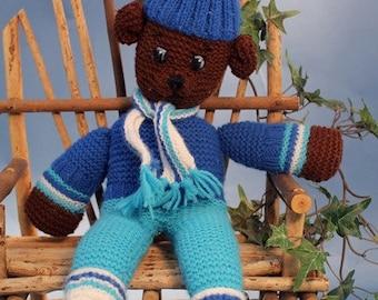 Luxembears Hand Knitted Teddy Bear