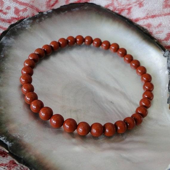 MEN'S RED JASPER Bracelet