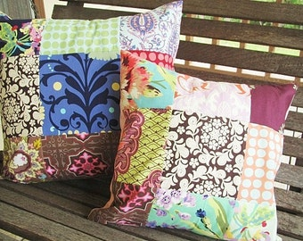 Add on a Patchwork pillow sham, different sizes available, YOU PICK FABRICS