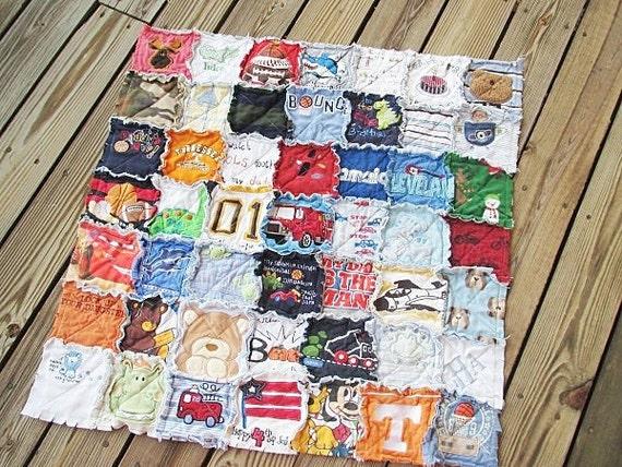 Сшить одеяло из старых футболок