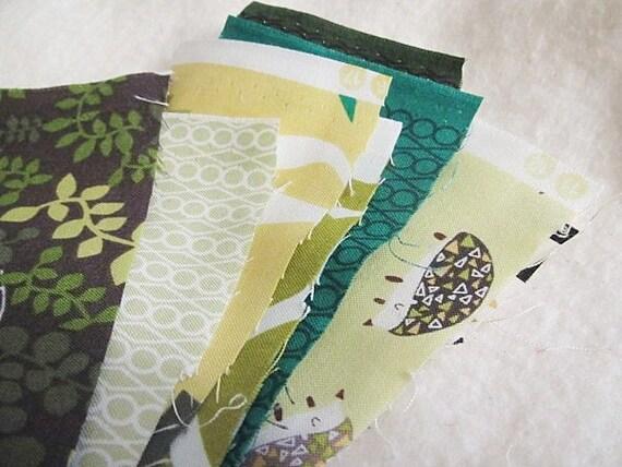 DESTASH fabric, Outfoxed in boy bundle, 8 inch