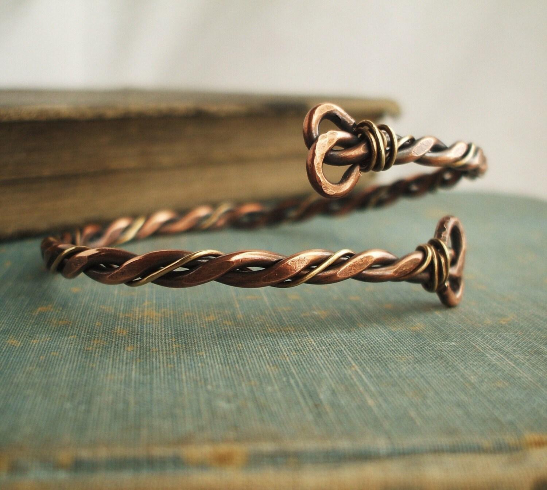 men 39 s copper and brass bracelet by gypsymoonart on etsy. Black Bedroom Furniture Sets. Home Design Ideas