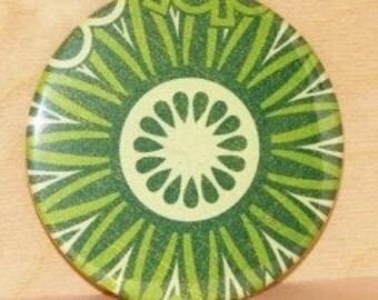 3-inch Pocket Mirror  Wanna-Be Kiwi