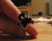 Skull ring -special listing for kowalskyk-