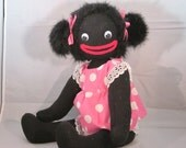 Good Golly Miss Molly fully jointed golliwog doll
