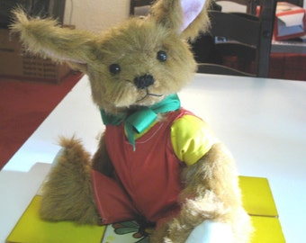 Buster Bunny limited edition plush bunny Made to Order