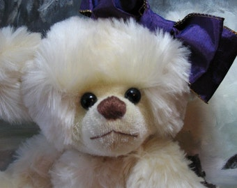 Twinkie a mohair teddy bear OOAK