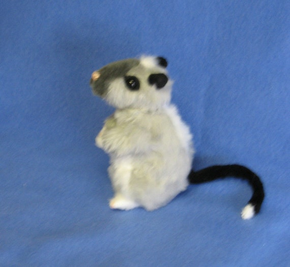 Custom Made Synthetic Plush Gerbil Plushie to your specifications