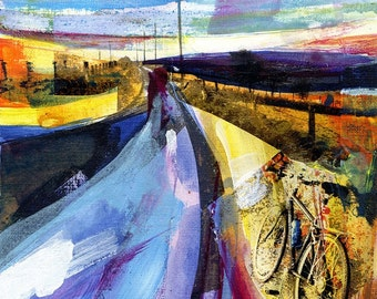 Sunset, Haworth Old Road( Limited edition inkjet print - size 1 )