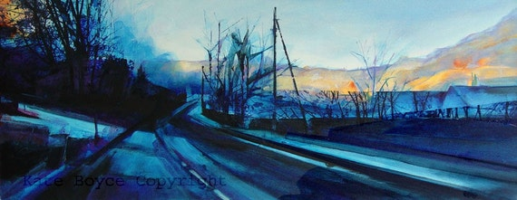 Early Morning Light, Cragg Vale. ( Limited Edition Archival Print - Size 4)